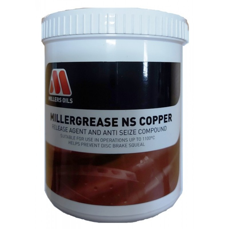 MILLERS OILS Millergrease NS Copper - vazelína s meďou 500g