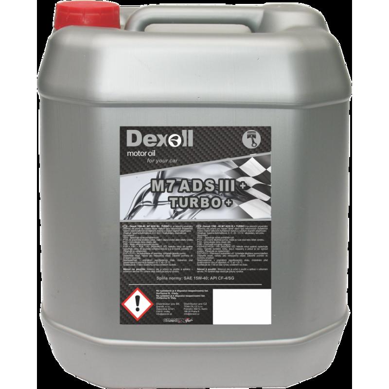 Dexoll M7ADS III+ 15W-40 TURBO+ 10l