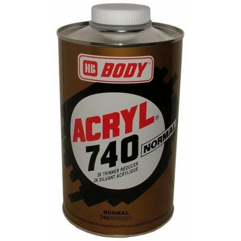 HB BODY 740 akrylové riedidlo 500ml