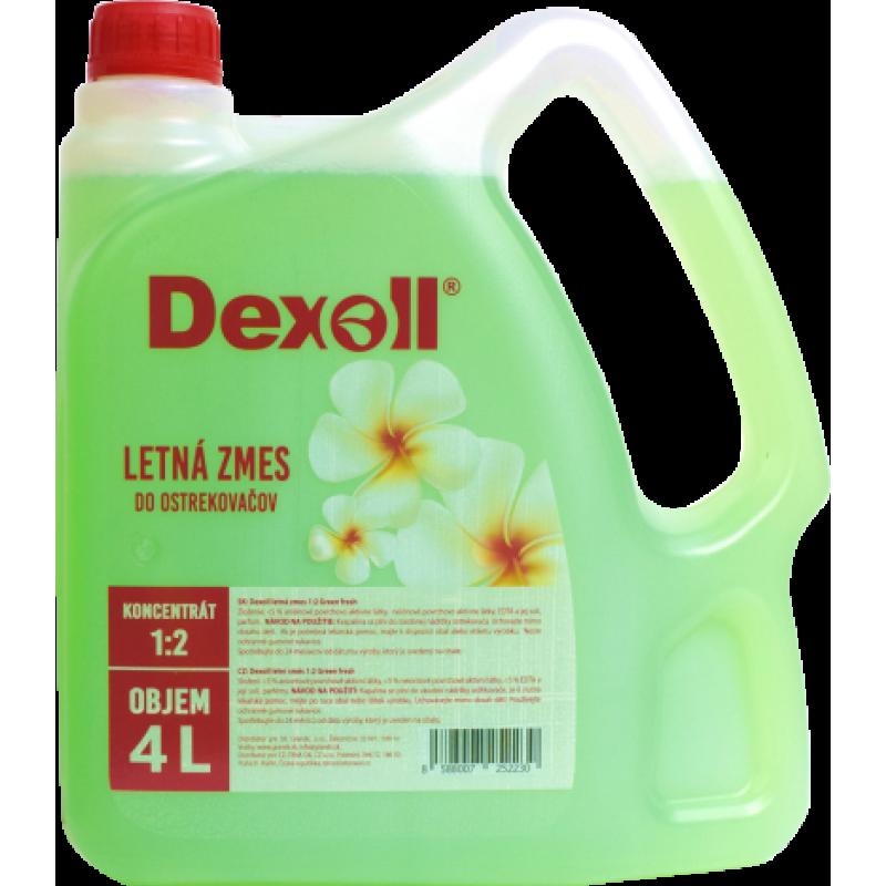 Dexoll Letná kvapalina do ostrekovačov Green Fresh 1:2 4L