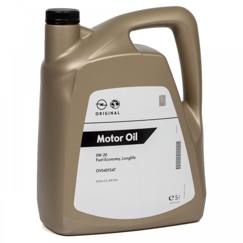 OPEL GM Fuel Economy Longlife 0W-20 5L