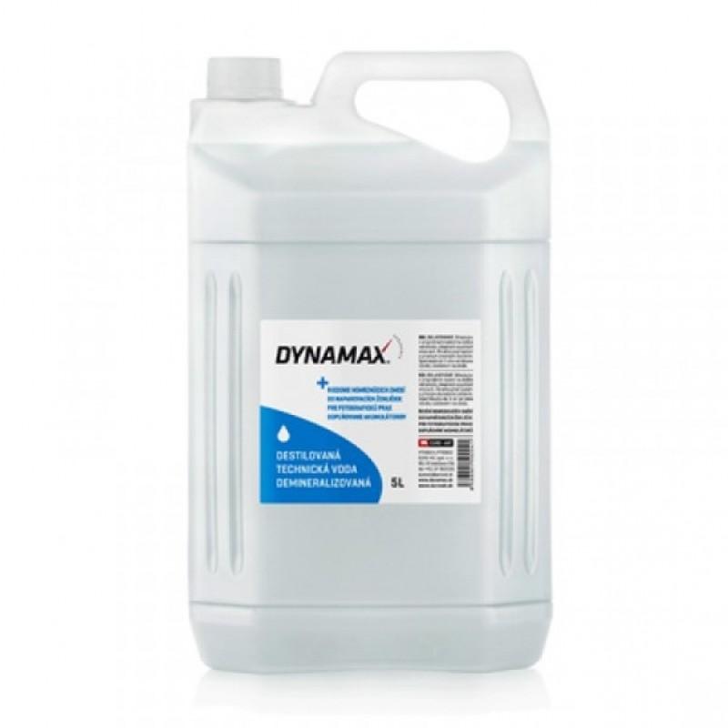 DYNAMAX Destilovaná, demineralizovaná voda 5L