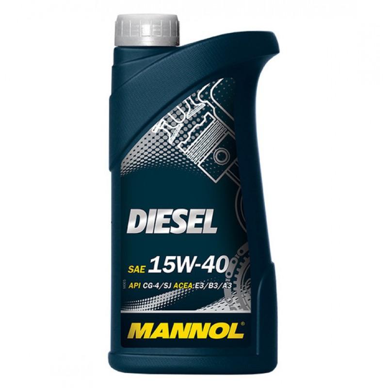 MANNOL Diesel 15W- 40 1L