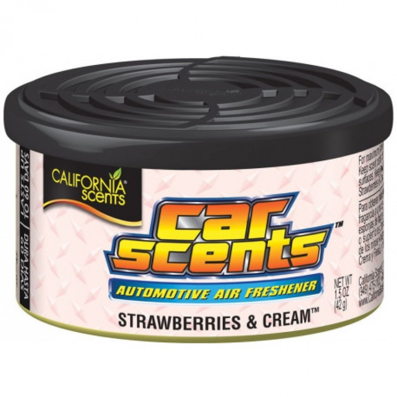 California Scents - Strawberries and Cream (Jahodový krém)