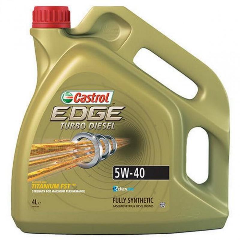 CASTROL EDGE TITANIUM FST TURBO DIESEL 5W-40 4L