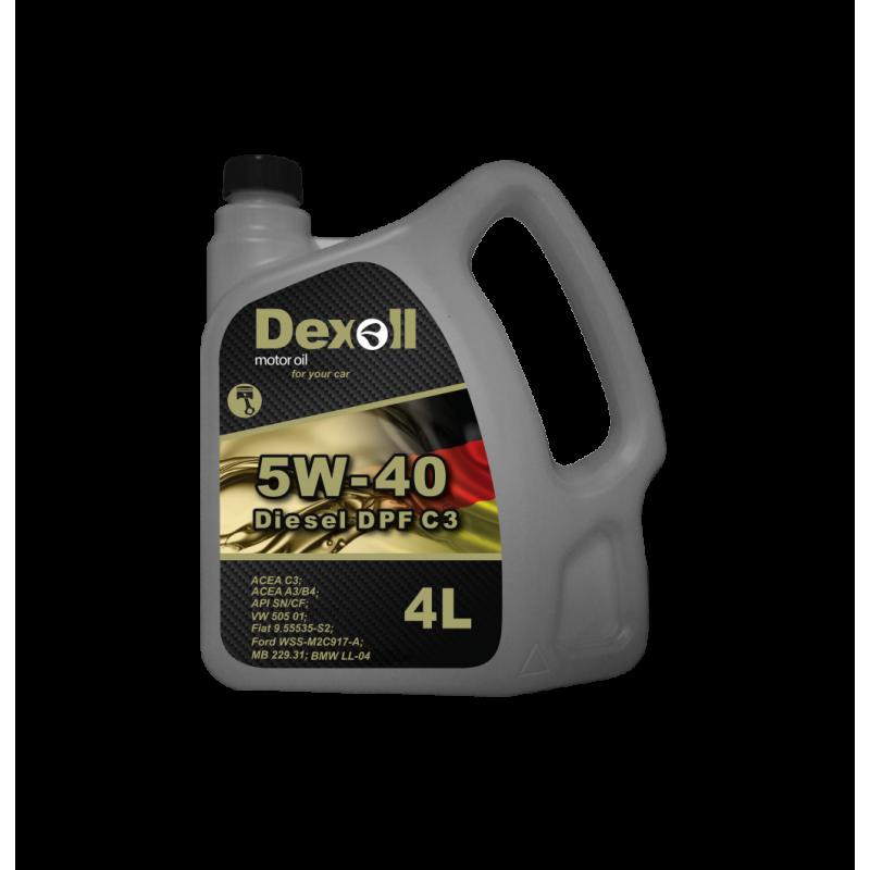 DEXOLL DIESEL 5W-40 DPF 4L