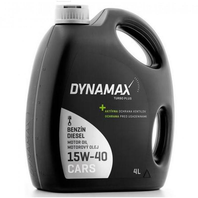 DYNAMAX TURBO PLUS 15W-40 4L