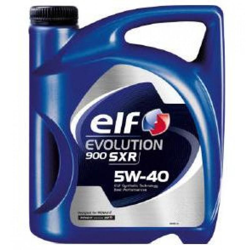 ELF EVOLUTION 900 SXR 5W-40 4L