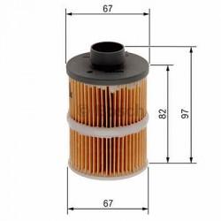 Palivový filter Bosch 1 457 070 001
