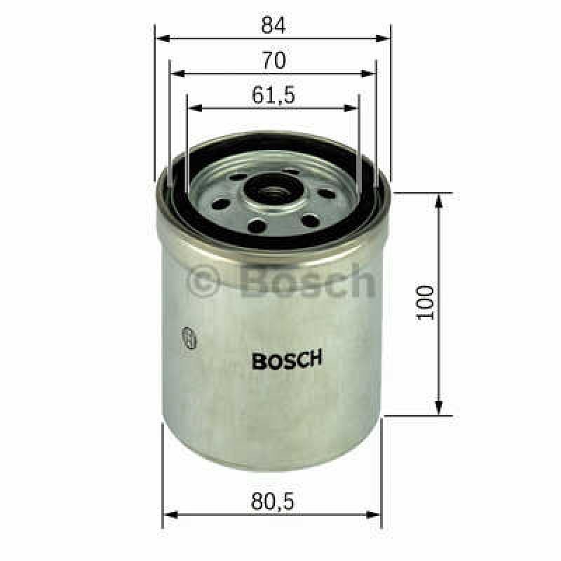 Palivový filter Bosch 1 457 434 331