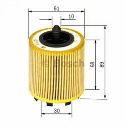 Olejový filter Bosch F 026 407 016
