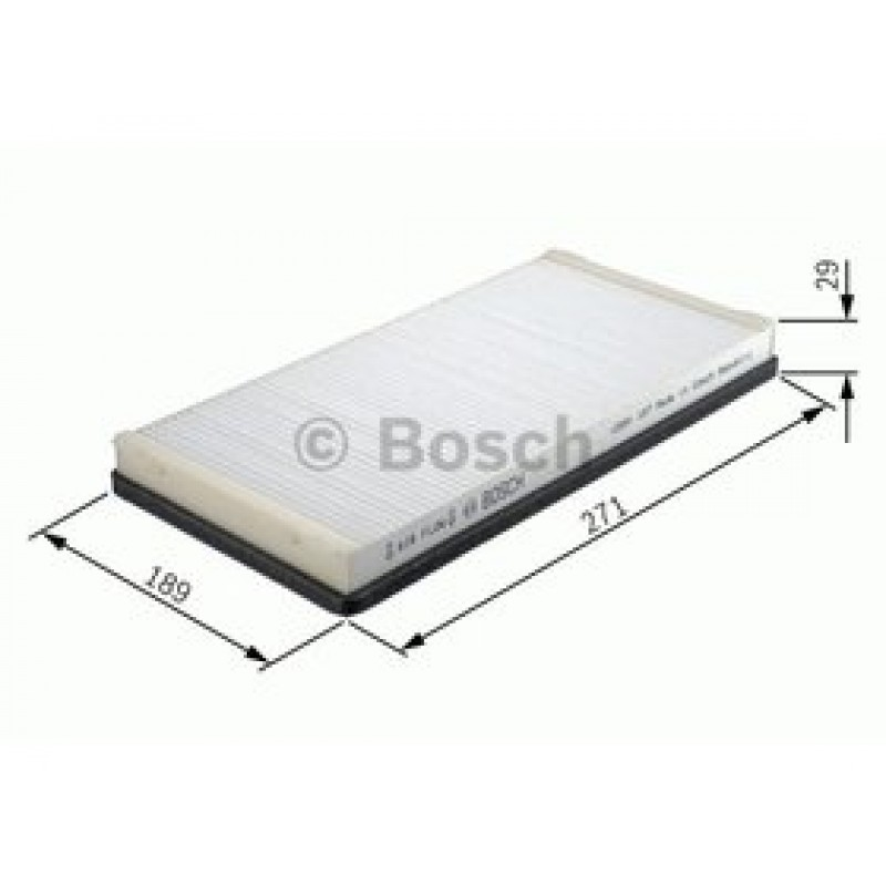 Kabinový filter Bosch 1 987 432 022