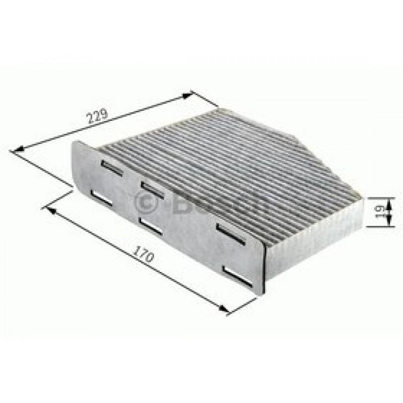Kabinový filter Bosch 1 987 432 027
