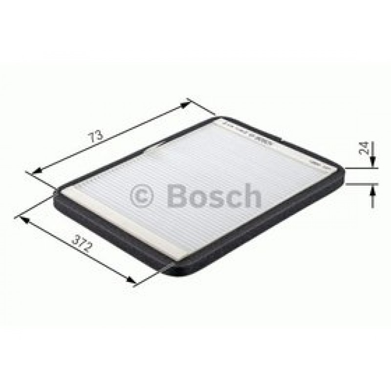 Kabinový filter Bosch 1 987 432 051