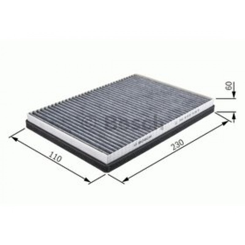 Kabinový filter Bosch 1 987 432 052