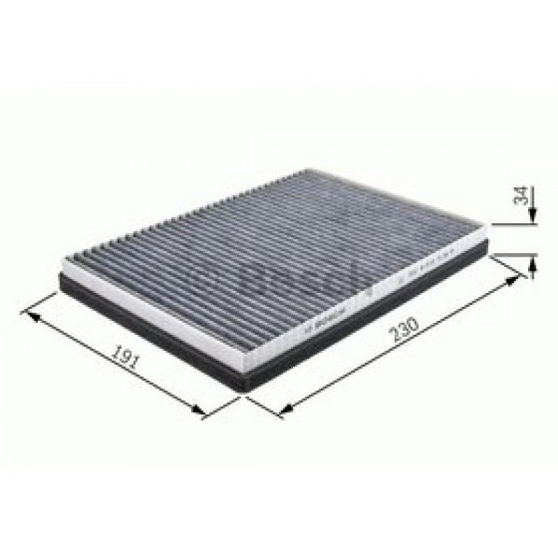 Kabinový filter Bosch 1 987 432 066