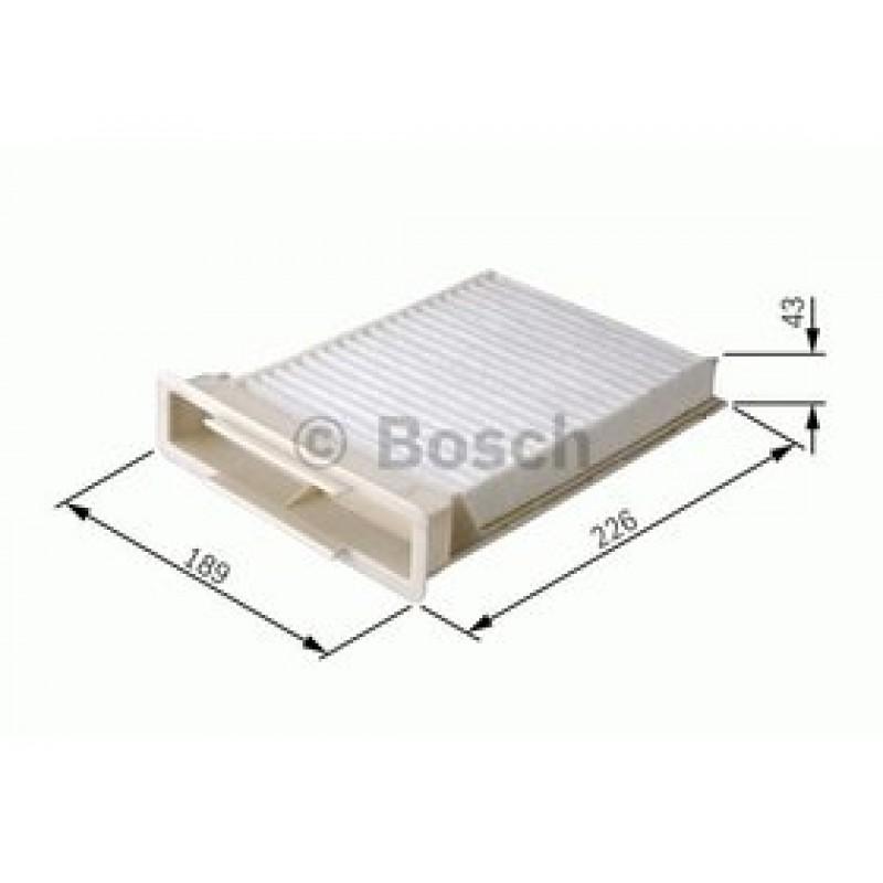 Kabinový filter Bosch 1 987 432 120
