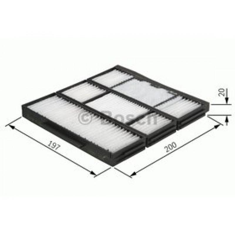 Kabinový filter Bosch 1 987 432 155