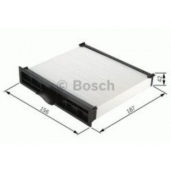 Kabinový filter Bosch 1 987 432 157