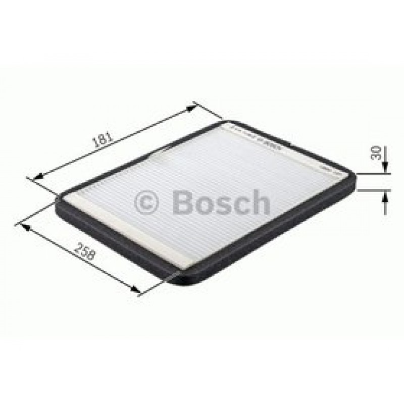 Kabinový filter Bosch 1 987 432 313