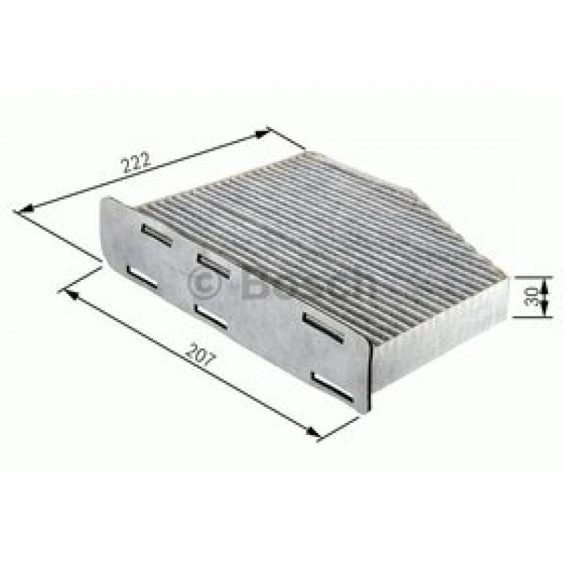 Kabinový filter Bosch 1 987 432 365