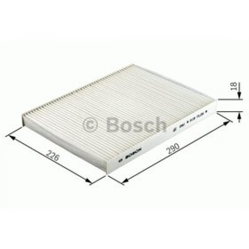 Kabinový filter Bosch 1 987 432 366