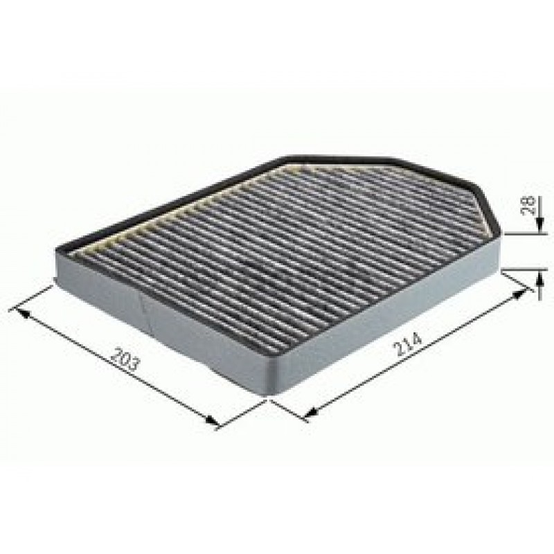 Kabinový filter Bosch 1 987 432 367