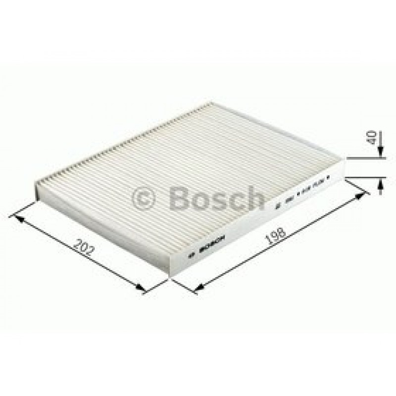 Kabinový filter Bosch 1 987 432 378