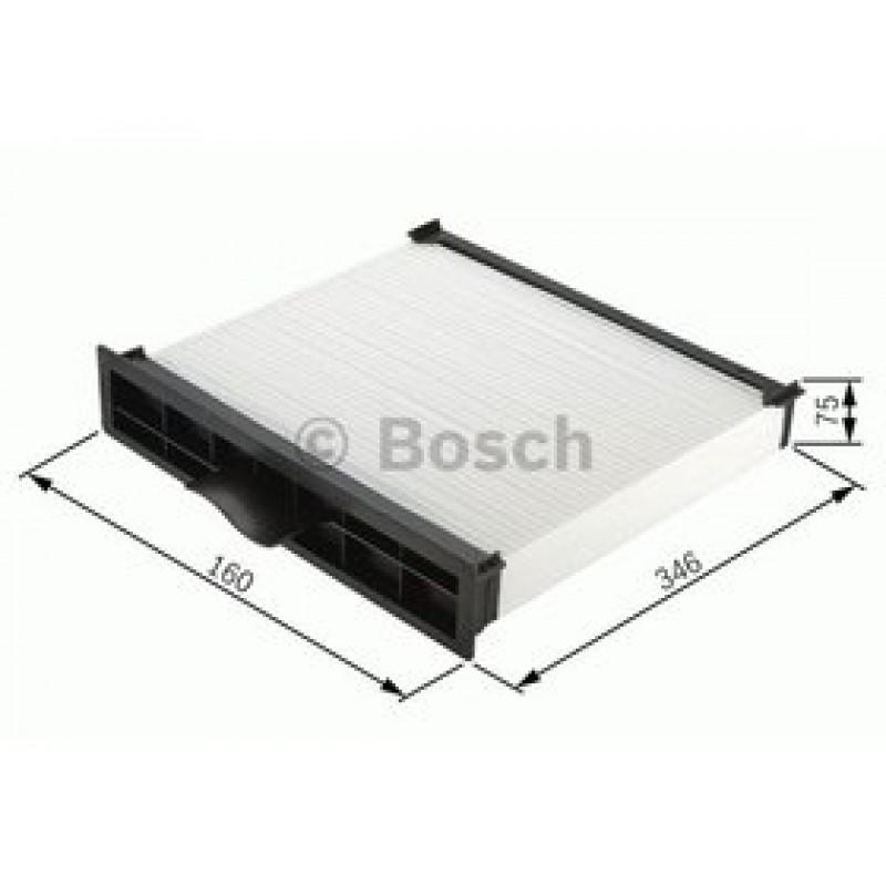 Kabinový filter Bosch 1 987 432 398