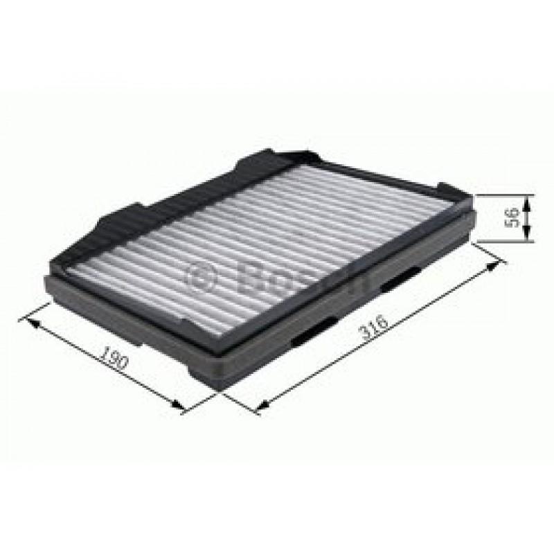 Kabinový filter Bosch 1 987 432 401