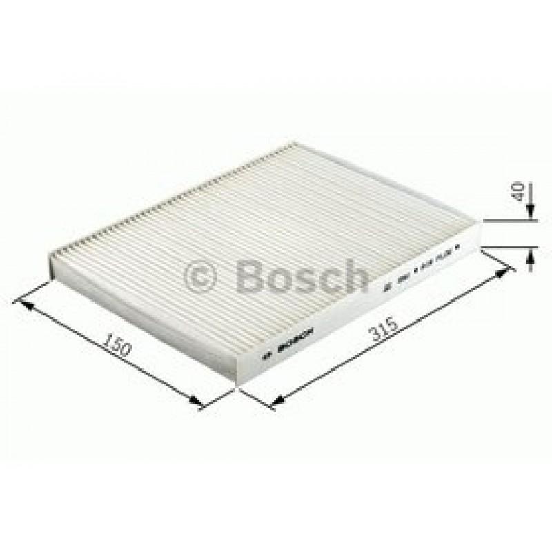 Kabinový filter Bosch 1 987 432 412