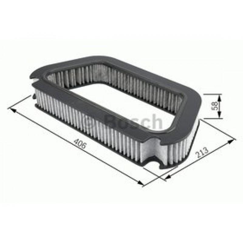 Kabinový filter Bosch 1 987 432 423