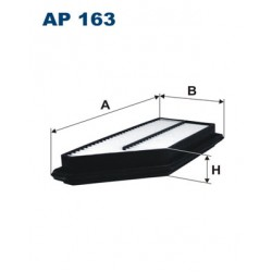 Vzduchový filter Filtron AP163