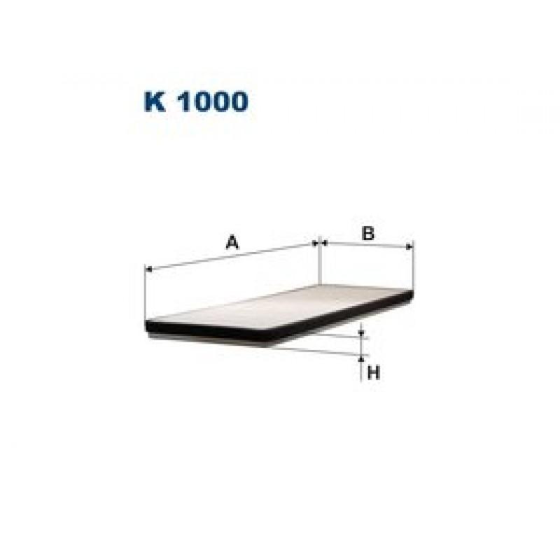 Kabinový filter Filtron K1000