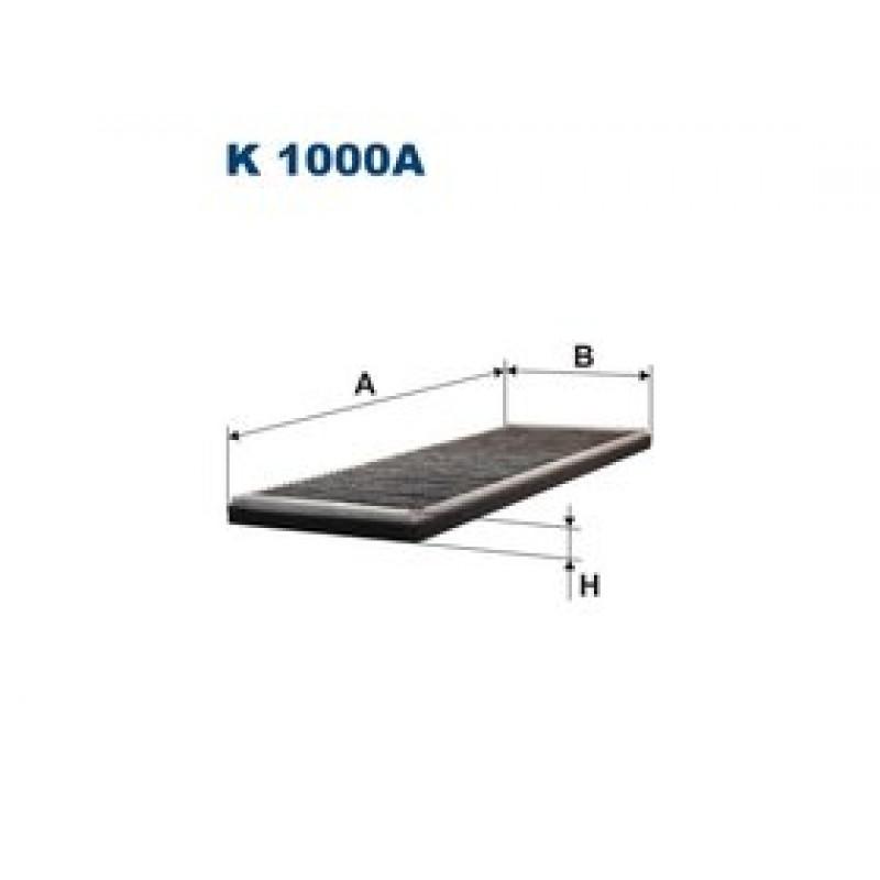 Kabinový filter Filtron K1000A