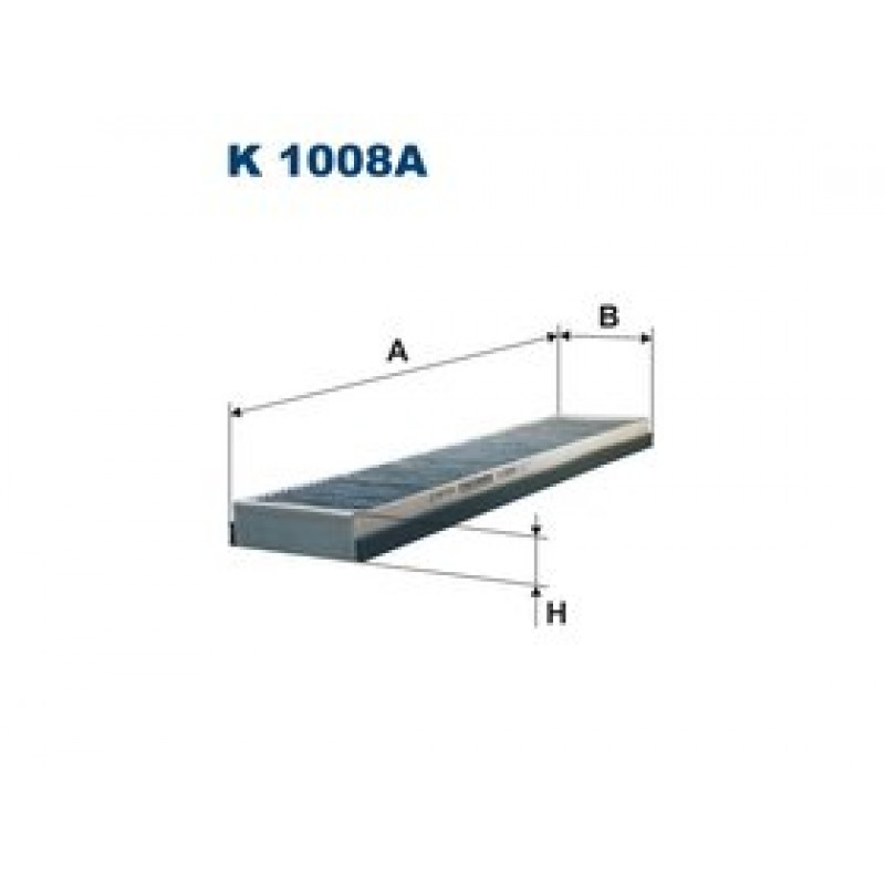 Kabinový filter Filtron K1008A
