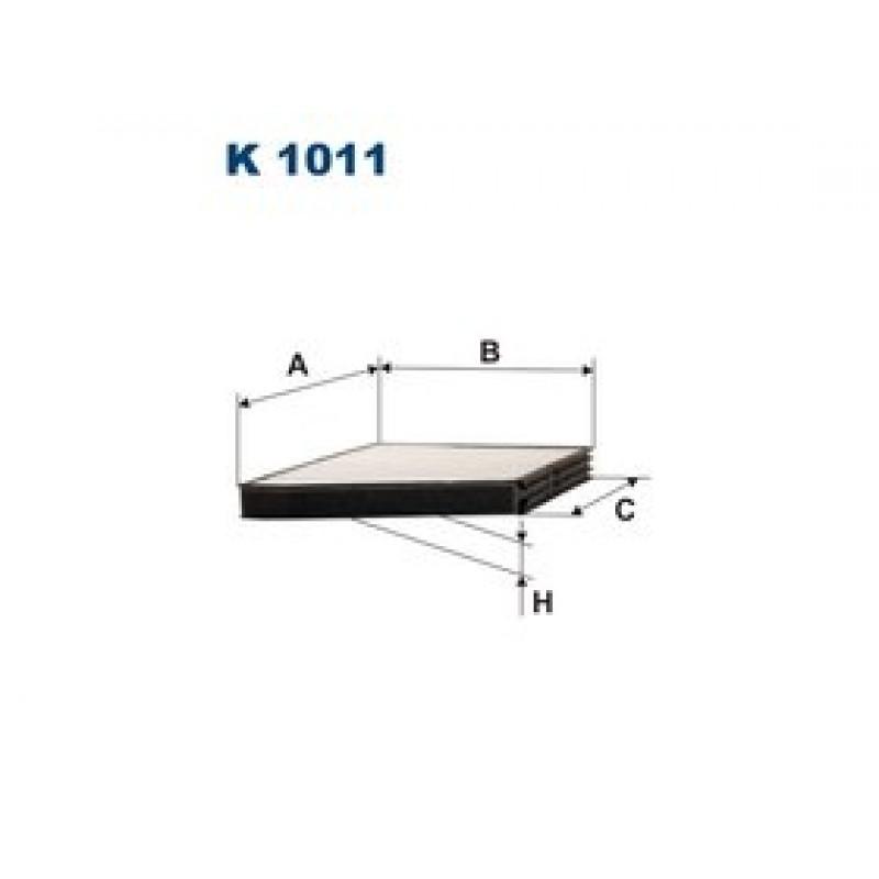 Kabinový filter Filtron K1011
