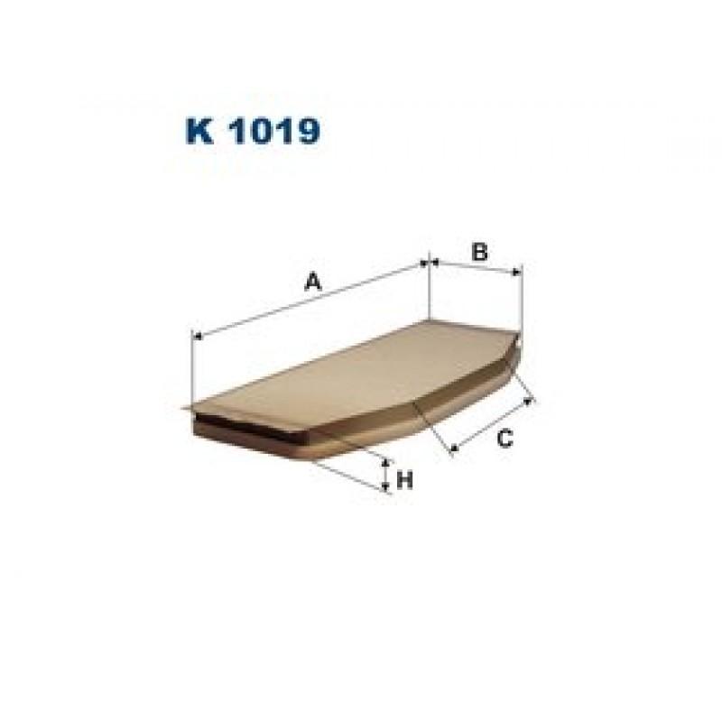 Kabinový filter Filtron K1019