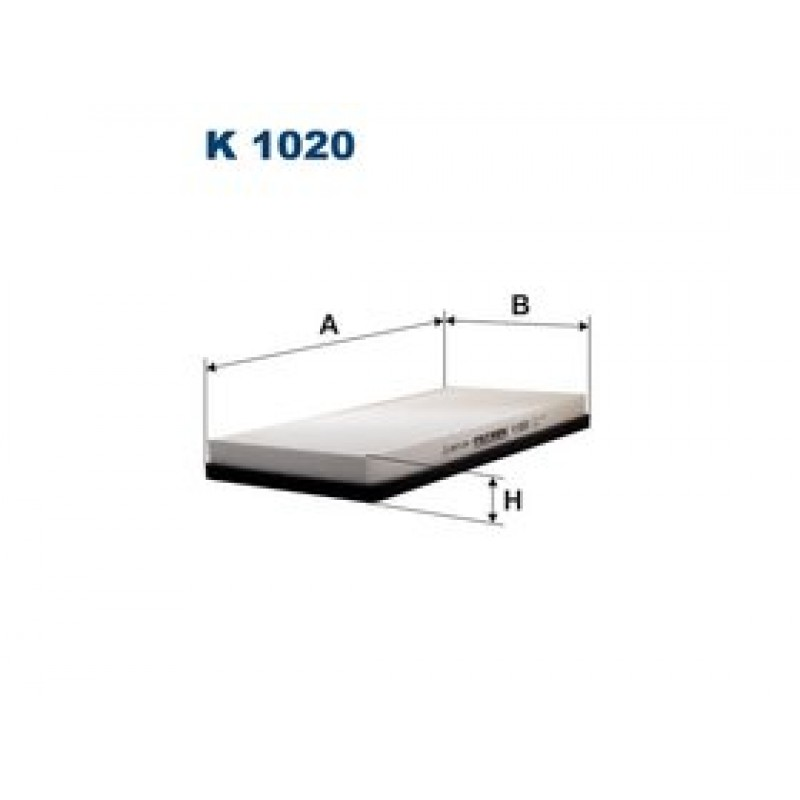 Kabinový filter Filtron K1020