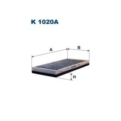 Kabinový filter Filtron K1020A