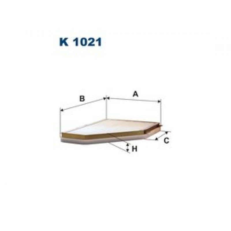 Kabinový filter Filtron K1021
