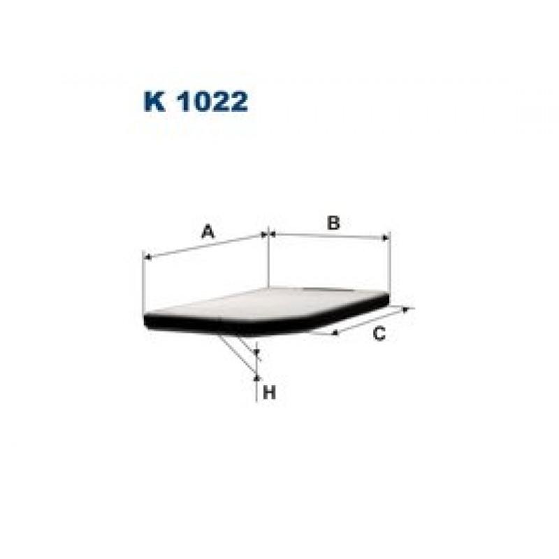 Kabinový filter Filtron K1022