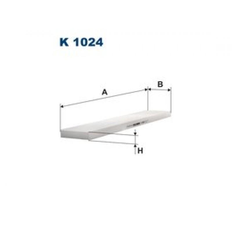 Kabinový filter Filtron K1024
