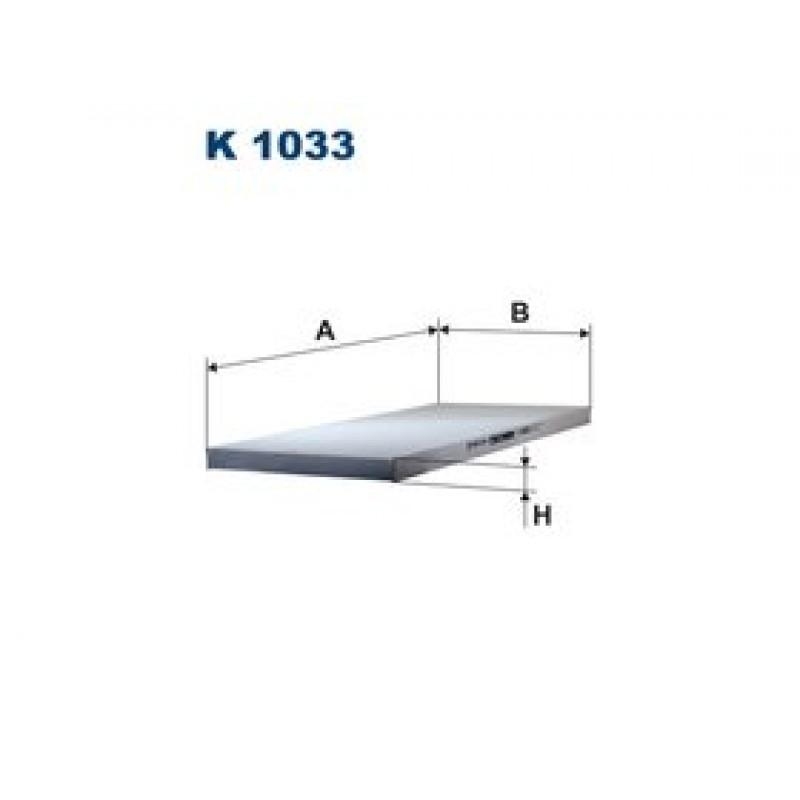 Kabinový filter Filtron K1033
