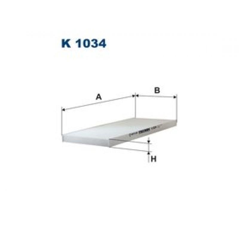 Kabinový filter Filtron K1034