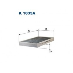 Kabinový filter Filtron K1035A