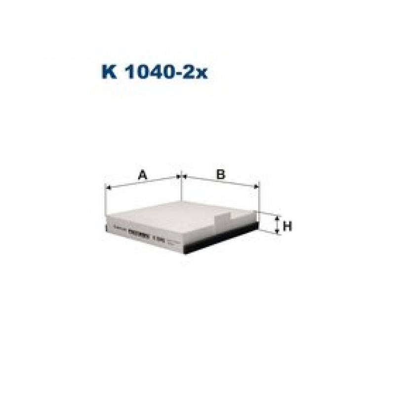 Kabinový filter Filtron K1040-2X