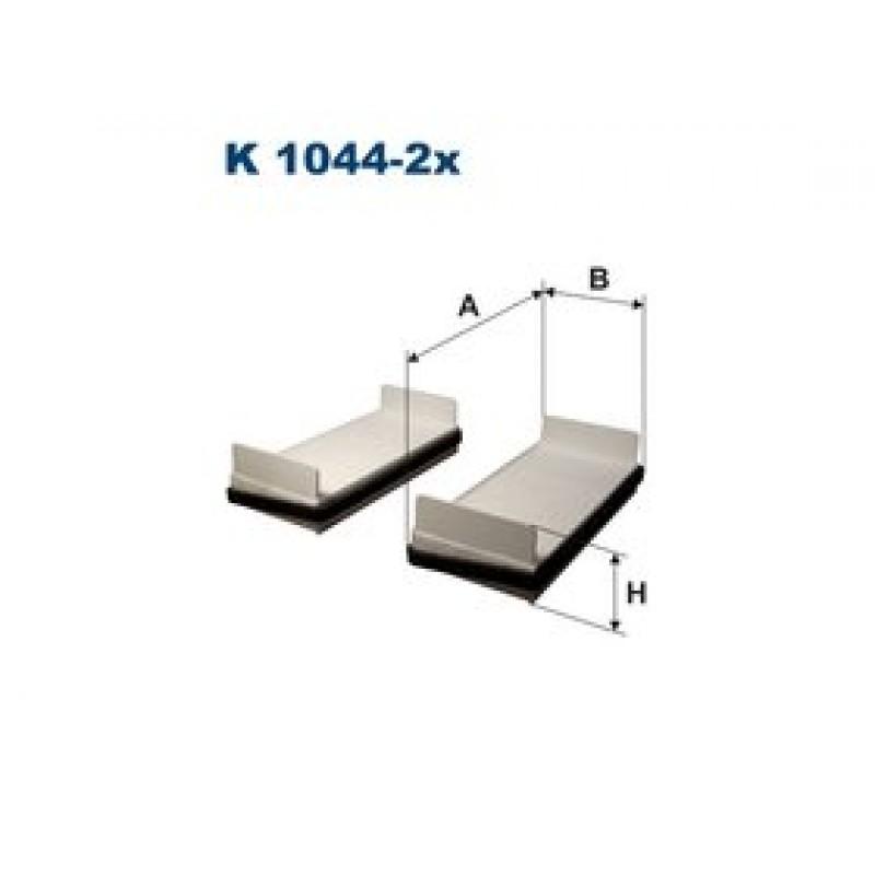 Kabinový filter Filtron K1044-2X