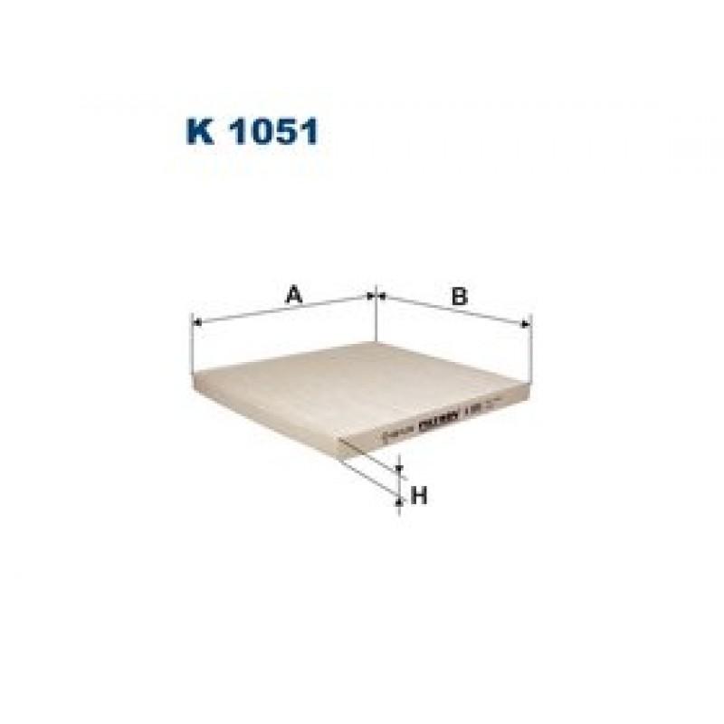Kabinový filter Filtron K1051