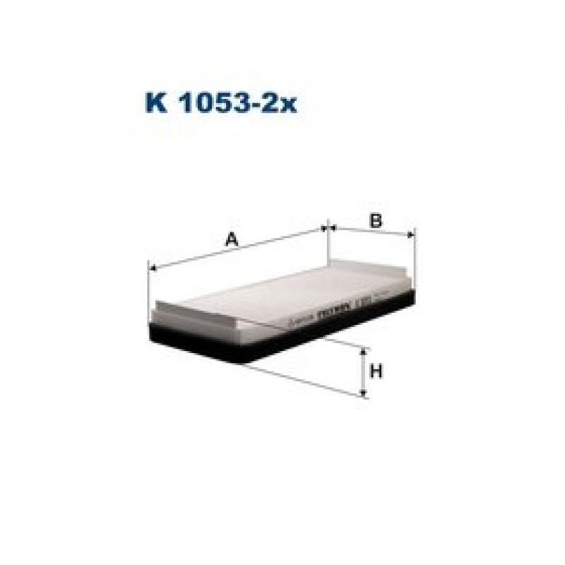 Kabinový filter Filtron K1053-2X